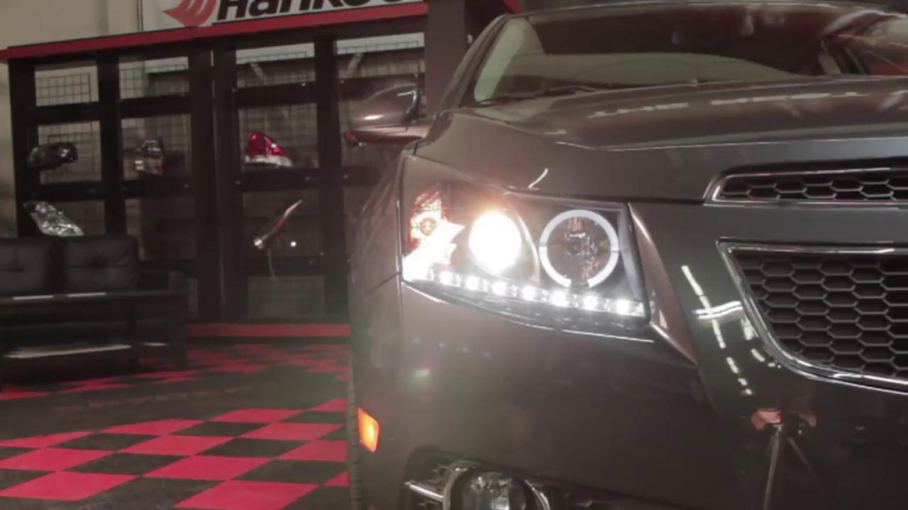 How to install 2011-13 Chevrolet Cruze projector headlights